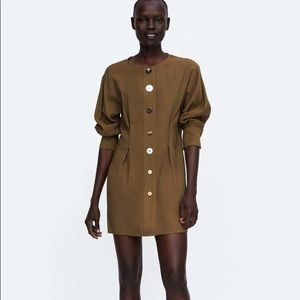 NWT Zara basic mini dress
